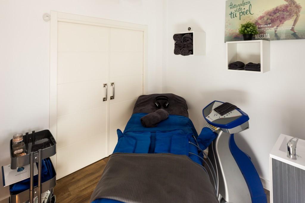 sala presoterapia