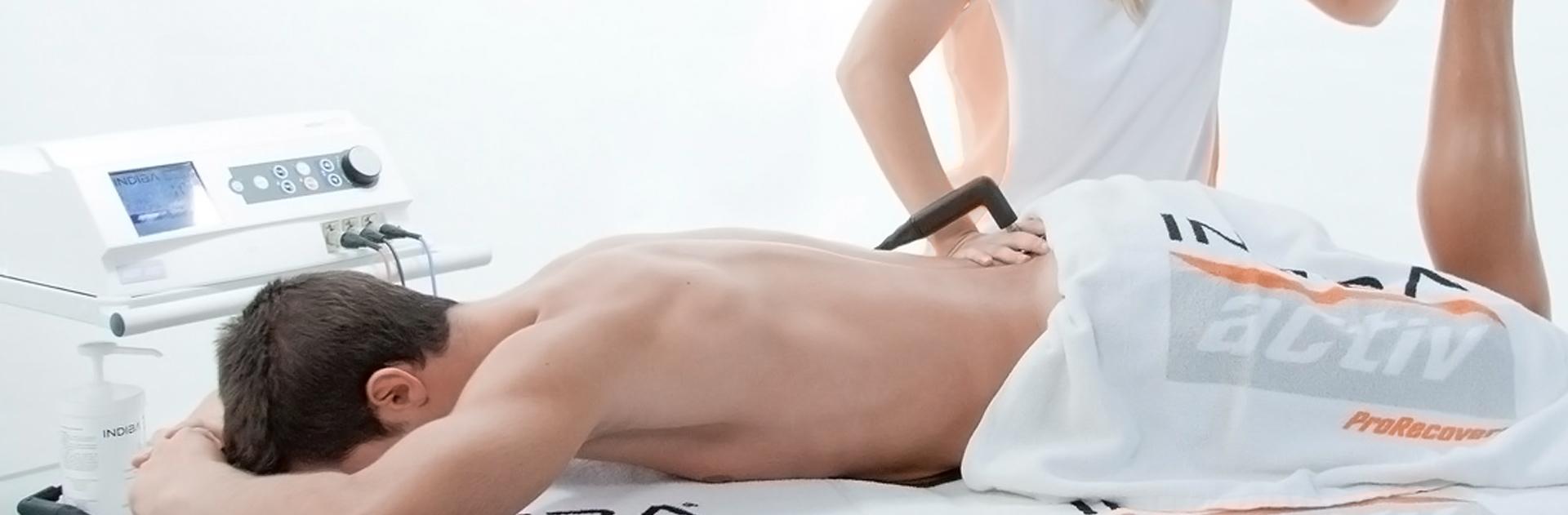 Indiba activ para el tratamiento de la ciática